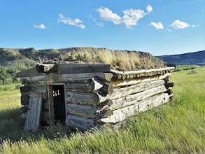 Photo: Sod covered - Nelson Homestead - RM 130