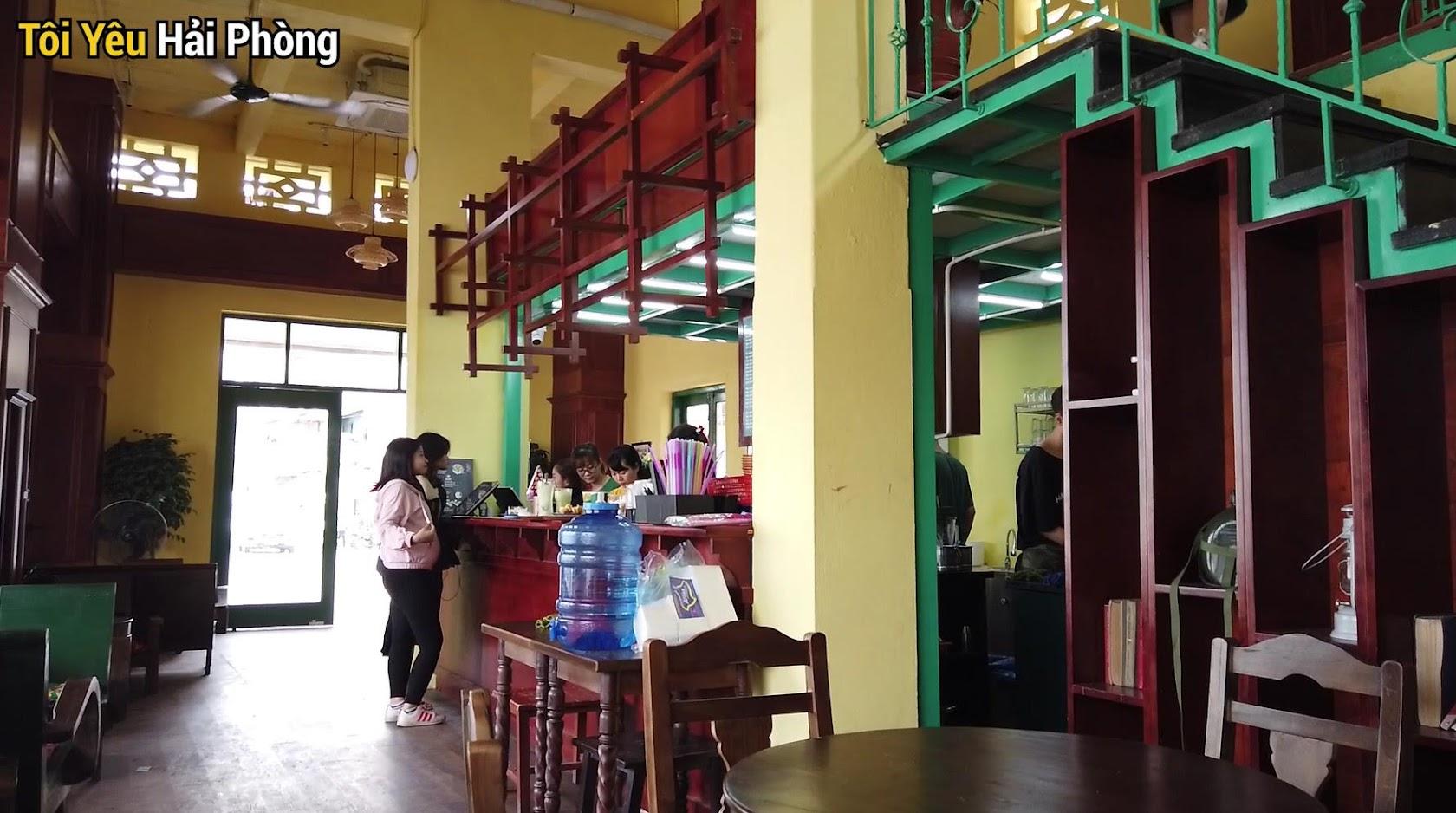Cà phê view đẹp Bắc Việt phố đi bộ Tam Bạc ở Hải Phòng 4