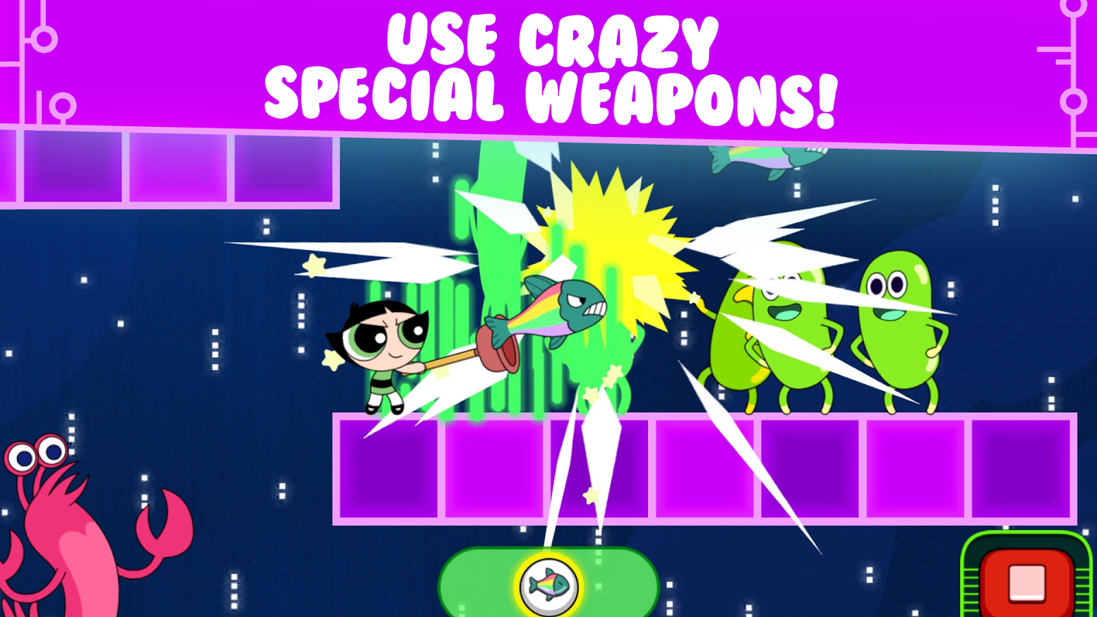 Glitch Fixers: Powerpuff– captură de ecran