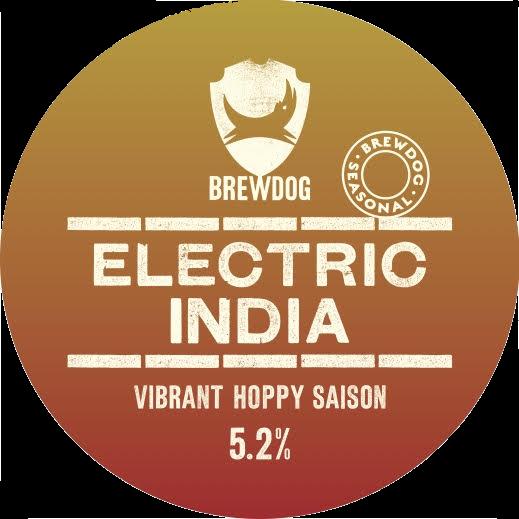 Logo of BrewDog Electric India