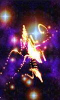 Screenshot of Morphing Galaxy 3D Live WP