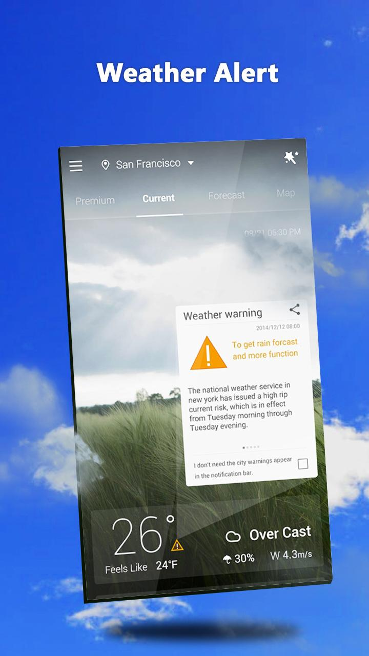 GO Weather - Widget, Theme, Wallpaper, Efficient Screenshot 6