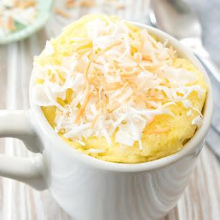 Paleo Coconut Mug Cake Recipe