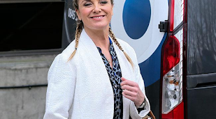 Tamzin Outhwaite 'already' missing EastEnders star Nitin Ganatra