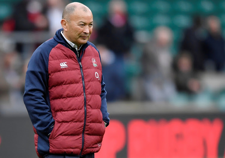 England head coach Eddie Jones during the Six Nations at the start of 2020. Picture: TOBY MELVILLE/REUTERS