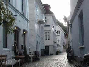 Photo: Uphill - the upscale neighborhoods of Bergen.