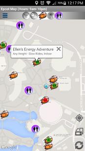 Map for Disney World - Lite- screenshot thumbnail