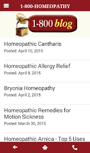 1-800-HOMEOPATHY screenshot 2