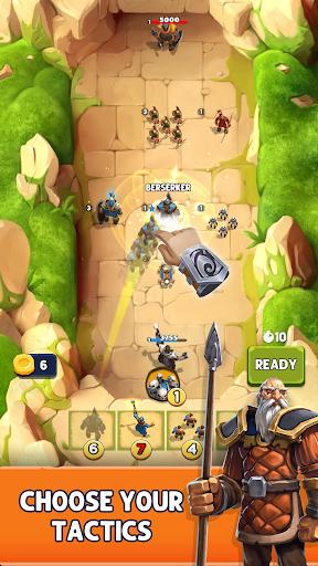 Battleline Tactics: Strategic PVP Auto Battler 1.6.3 screenshots 1