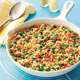Ham and Brown Rice Casserole.