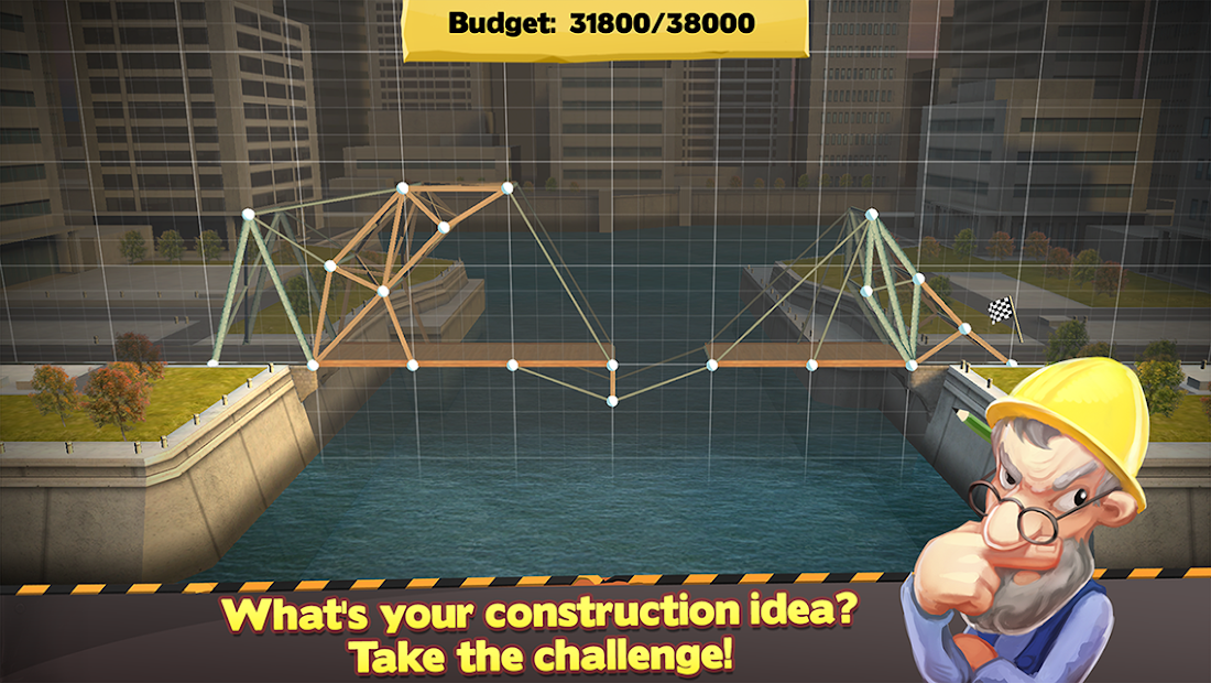 Bridge Constructor Android App Screenshot
