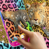 Cheetah leopard print live wallpaper