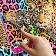 Cheetah leopard print live wallpaper APK icon