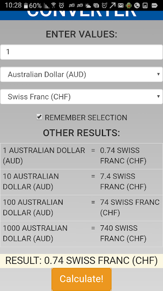 Currency Converter Easily 1.2.7