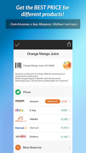 QR Scanner & Barcode reader 1.0.1 screenshots 3