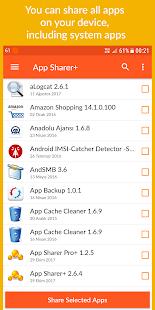 App Sharer+ - náhled