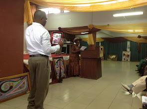 Photo: Keynote Address by Prof Obioma Nnaemeka
