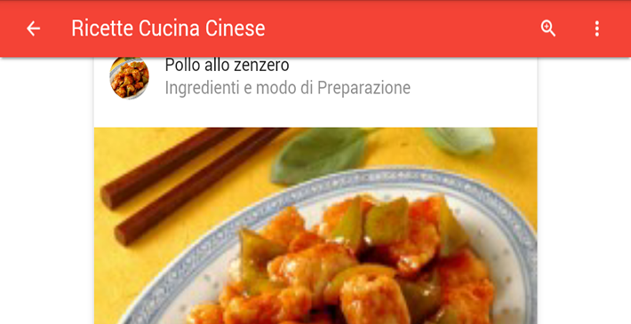 Ricette cucina cinese android apps on google play for Cucina cinese ricette