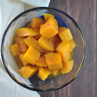 Maple Cayenne Roasted Butternut Squash