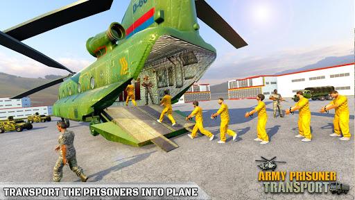 Army Prisoner Transport: Criminal Transport Games apkmind screenshots 3