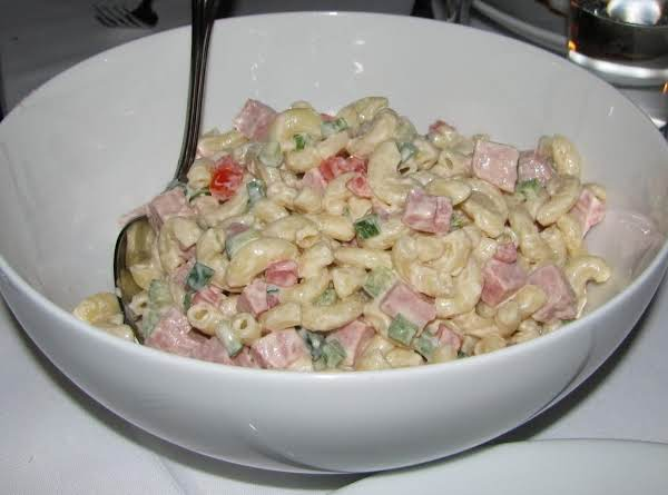 Spam Macaroni Salad