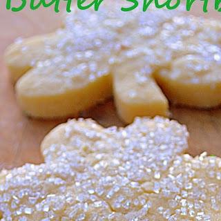 Irish Butter Shortbread Cookies.