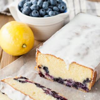 Lemon Blueberry Almond Loaf