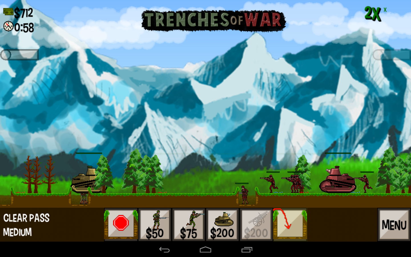 Trenches of War- screenshot