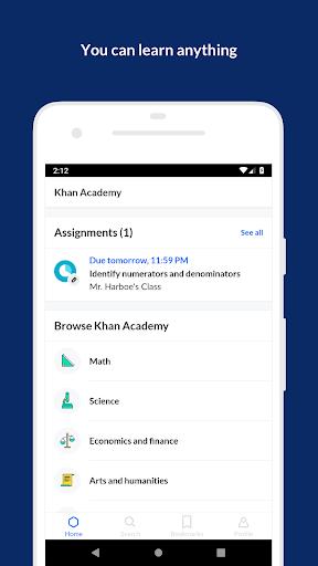 Khan Academy 6.1.1 screenshots 1