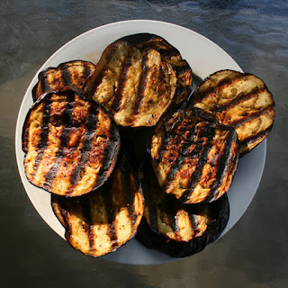 Easy Eggplant and Bread Salad.
