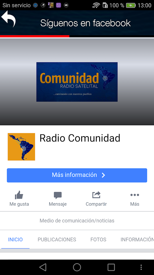 RADIO COMUNIDAD- screenshot