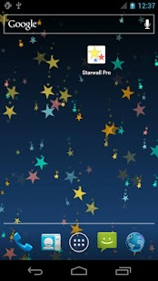 Star wall pro live wallpaper Screenshot