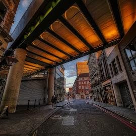 London Bridge by Gjunior Photographer - City,  Street & Park  Street Scenes ( other exterior, city, street, cityscape, building, landscape )
