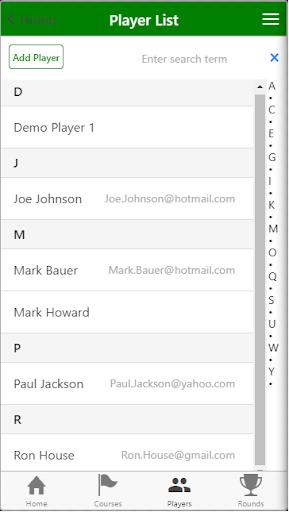 Golf Scorecard|玩運動App免費|玩APPs