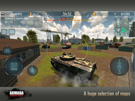 Armada: Modern Tanks - New Tank Fighting Game 3D 3.07 screenshots 13