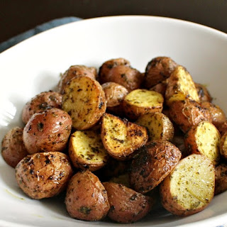 Lemon Garlic Roasted Potatoes