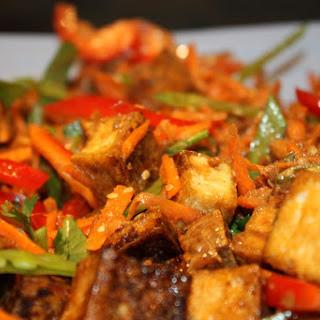 Thai Tofu Salad.