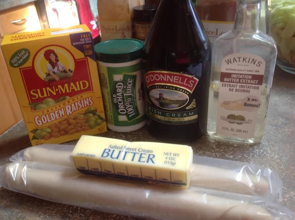 These are some of the main ingredients I used to make this pie.