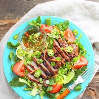 Vietnamese Grilled Steak Salad.