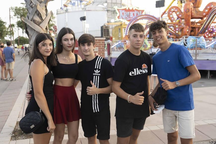 Jesús, Iker, Javi, Alba y Andrea