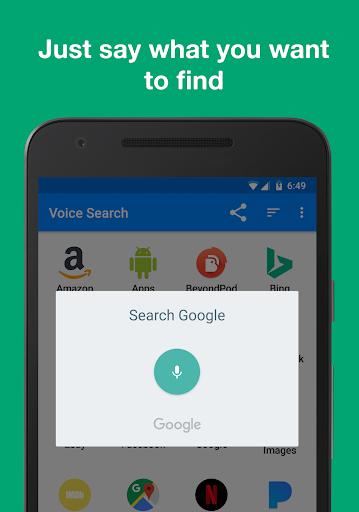 Voice Search screenshot 2