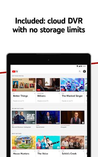 YouTube TV - Watch & Record Live TV 4.33.3 Screenshots 14
