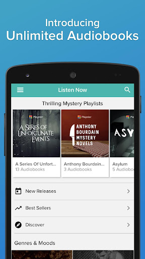 Playster - Audiobooks, Books & Music download offline 2