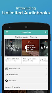 Playster - Audiobooks, Books & Music Screenshot