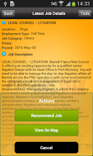 PNGJobSeek- screenshot thumbnail