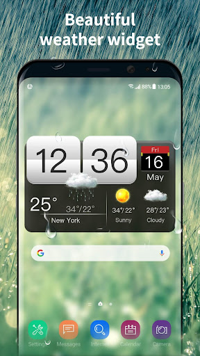 World weather widget&Forecast 16.6.0.46770 screenshots 2