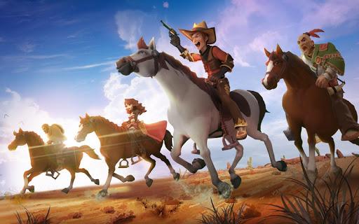 Wild West Heroes apktreat screenshots 1
