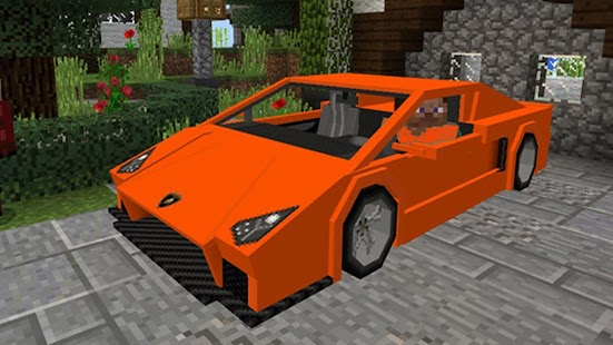 Cars Mod for Minecraft MCPE - náhled