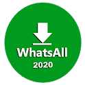 WhatsAll - Status Saver, Deleted Msg Viewer icon