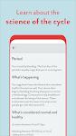 screenshot of Period Tracker Clue: Ovulation, Period Tracker App